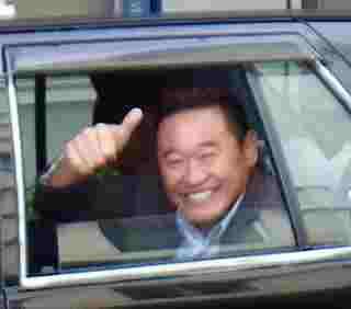 リビングで拝見している、サッカー解説者・松木安太郎さん