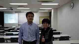 大津 竜一郎さん(和ろうそくの小大黒屋)と、リフォーム母さんです!